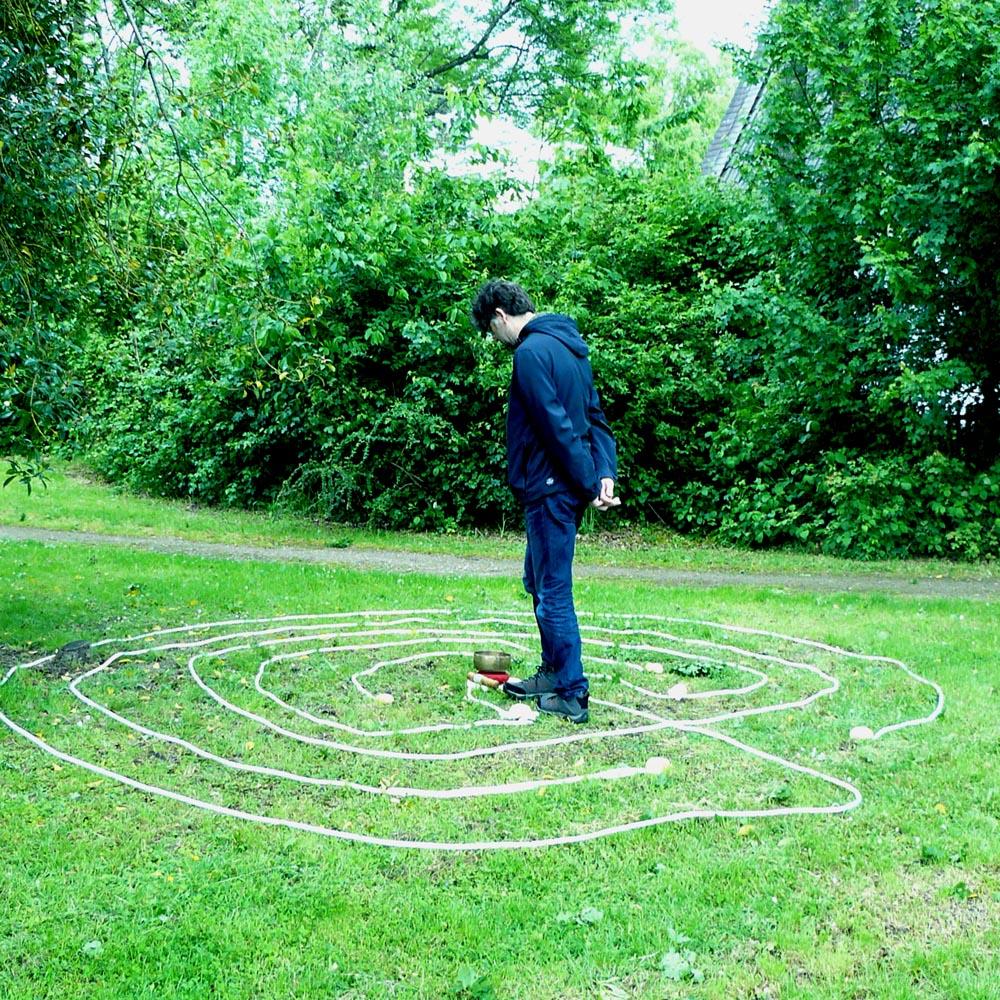 Labyrinth-Begehung