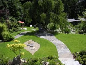 Geomantische Gartengestaltung